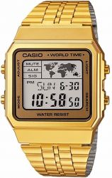 Relógio Masculino Casio World Time Digital A500wga-9df
